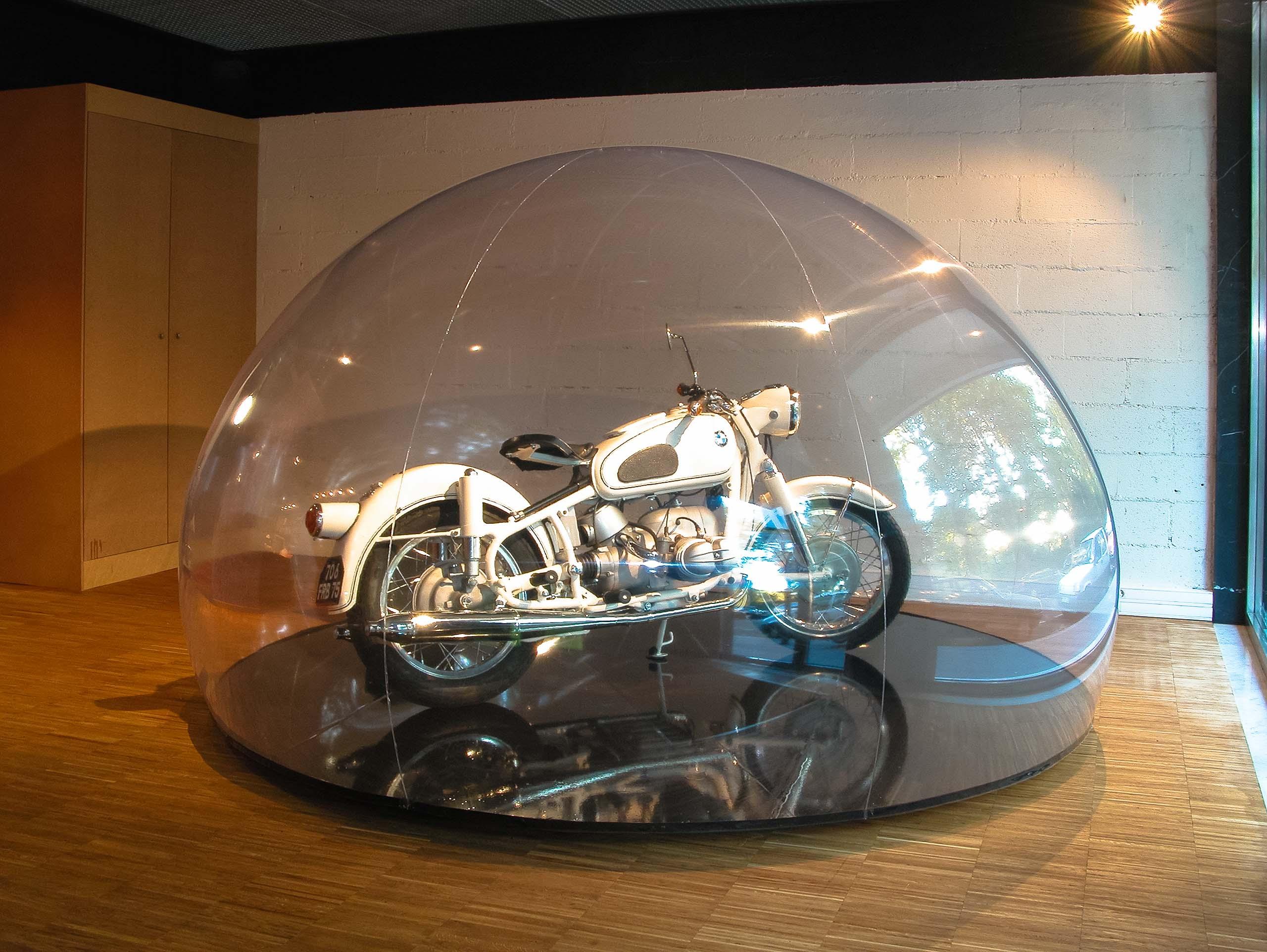 Bulle igloo BMW