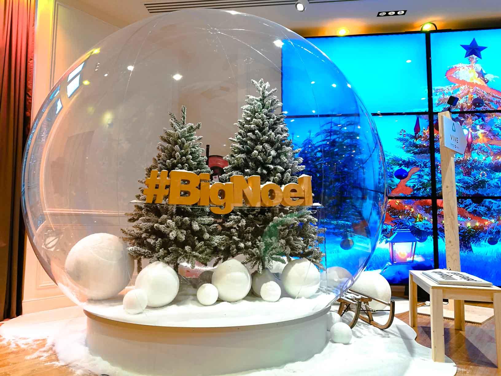 #02B0C9 Bulle Gonflable Pour Décoration De Noël JC Keller 5439 decorations de noel gonflables 1632x1224 px @ aertt.com