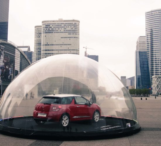 Voiture sous bulle 2