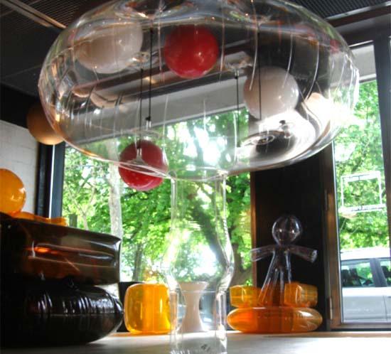 champignon gonflable géant