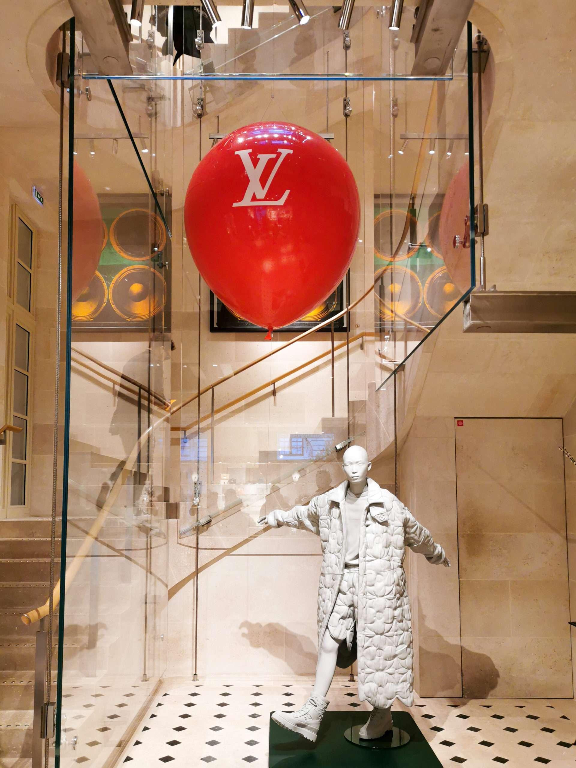 Ballon gonflable Louis Vuitton
